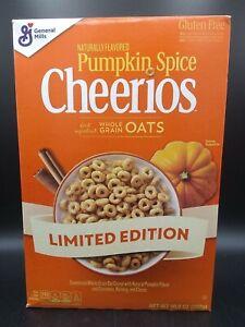 General Mills Pumpkin Spice Cheerios 10.8 oz Limited Edition