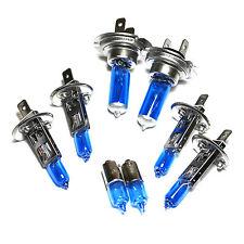 Alfa Romeo 156 H1 H7 H1 H6W 55w ICE Blue Xenon High/Low/Fog/Side Headlight Bulbs
