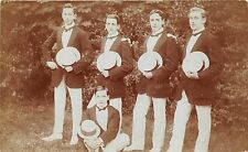 POSTCARD   KENT   STROOD   SOCIAL  HISTORY  Garden  Fete  1911 Jellity  Boys