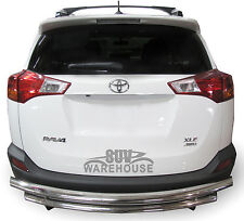 WynnTech Rear Bumper Guard for Toyota Rav4 2013 to 2016 - Double Layer Protector
