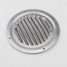 """1PC 5"""" Round Louvre Air Vent Ventilation Ventilator Grille Cover Stainless Steel"""