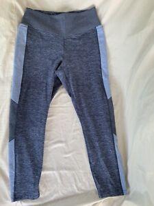 PINK Victoria's Secret - COZY Leggings - Heathered Blue - Women's Large