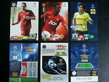10x Aussuchen - Panini Cards - Adrenalyn XL Champions League 2011 2012 2013 2014