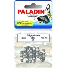 Paladin 15 Stück Teigspiralen Grö�Ÿe S/L für Forellen-Teig Rotauge Feeder Haken
