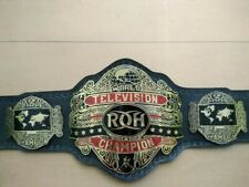 ROH WORLD TELEVISION CHAMPION BELT WITH 4MM IN BRASS