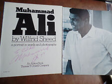 MUHAMMAD ALI Autograph LARGE 1977 WHILE CHAMPION!!! signed auto PSA/DNA guar.