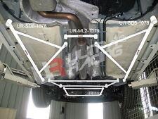 Ford Focus MK2 2.0 TDCI UltraRacing centrale inferiore Barra - Telaietto