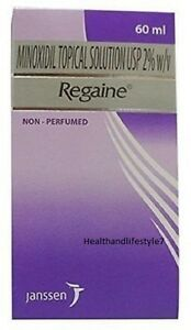 3XRegaine Minoxidil 2% 60 Ml- for Women Hereditary Hair Loss Treatment