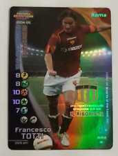 FOOTBALL CHAMPIONS 2004-05 Francesco Totti Rigorista Promo LEGA Roma ITA WIZARD
