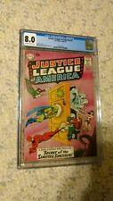 Justice League of America #2 DC CGC 8.0 OW/W, Flash Wonder Woman Aquaman cover
