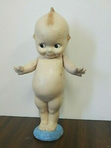 """Vintage/Antique 13"""" Composition Kewpie Doll w/Jointed Arms"""