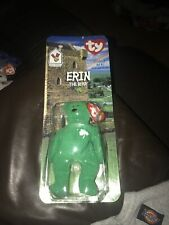 Beanie babies Erin The Bear Rare Item by Ty Mcdonalds Toy collector