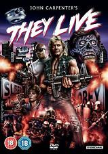 They Live DVD 5055201828903 Roddy Piper Keith David Meg Foster George P.