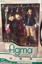 Used Max Factory Figma K-On Azusa Nakano Uniform Ver PAINTED