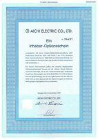 Aichi Electric Co., Ltd. 1er-OS 1989