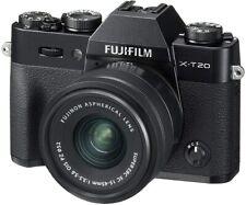 Fujifilm X-T20 Systemkamera 4K mit XC15-45mm Objektiv 24,3 MP schwarz XT-20