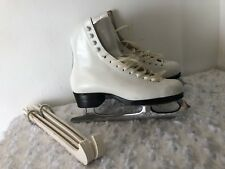 Riedell 900A Girls Ice Skates Size 3 1/2 A