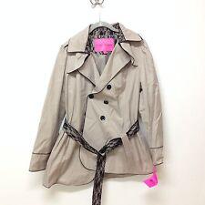 NWT Betsey Johnson Women's Beige Coat Size XL