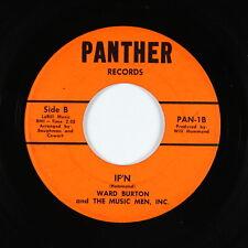 Northern Soul Garage 45 - Ward Burton - If'n - Panther - mp3