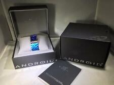 Android Unisex Paris Swiss Stainless Steel Blue Dial Watch