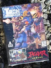 Iron Soldier Atari Jaguar Cartridge New Sealed In the Box with Manual & Overlay!