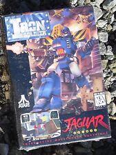 Iron Soldier Atari Jaguar Cartridge Tested In the Box!