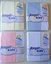 2 Pieces in a Pack, White Junior Joy Moses Fitted Sheets