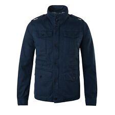 Caban giacca MCS Marlboro classics uomo cotone blu M-J-02024