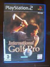 PS2 INTERNATIONAL GOLF PRO - PAL ESPAÑA PLAYSTATION 2 (4X)