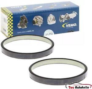 2x VEMO Sensorring ABS Hinten für MERCEDES-BENZ E Klasse W211 CLS C219 SL R230