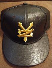 New Zoo York Black & Gold Hat