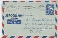 norway 1953 stamps cover ref 19404