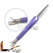Magic Wand Pusher Multi-Functional C-curve Pinching Tool Nail Art Pincher Purple