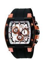 Casio Armbanduhr Edelstahl Kunststoffband Schwarz Datum Analog EFX-520P-7AVDR