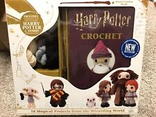 Harry Potter Crochet Kit with instruction booklet and Harry Potter Wand Hook!