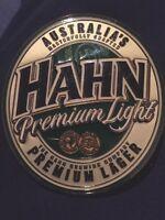 Hahn Premium Light Lager Beer Tap Badge, Decal, Top