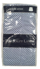 NEW Polo Ralph Lauren Boxers! 38  Light Blue with Polka Dots  Polo Player on Leg