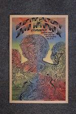 Jimi Hendrix Tour Poster 1969 Philadelphia
