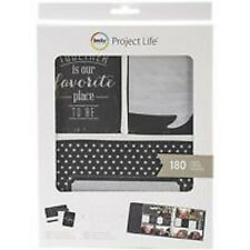 Becky Higgins Project Life Scrapbook Designs Kit Photo Pocket Pages 180 Cards