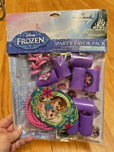 DISNEY FROZEN FAVOR PACK Birthday Party Supplies Toys Necklace Rings Loot Bag