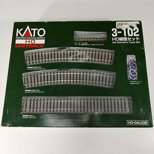 Kato HO Scale Unitrack Standard Track Set 3-102 Model Trains Railroads