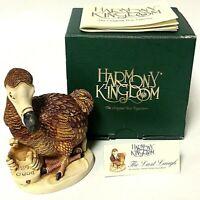 Retired Vintage Harmony Kingdom The Last Laugh Dodo Bird Trinket Box Figurine