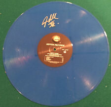 Steven Adler Guns N Roses Signed Autographed Appetite For Destruction Blue Vinyl