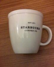 Starbucks 2006 Abbey Barista Ceramic Coffee Mug/Cup 18 oz White