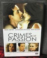 Crimes of Passion Passione Criminale DVD Nuovo Sigillato Meyer Higgins Sloan