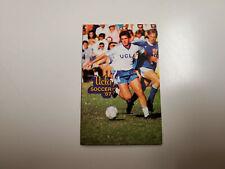 RS20 UCLA 1987 Men's Soccer Pocket Schedule - Metropolitan Life