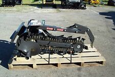 "Bradco 36"" Trencher Fits Mini Loaders,Ditch Witch,Vermeer,Toro,Boxer, Prowler"