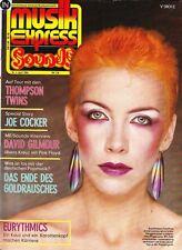 Magazin Musik Express 4/1984,Eurythmics,Thompson Twins,David Gilmour,Joe Cocker