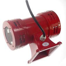 AC220V 150db Motor Driven Air Raid Siren Metal Horn Double Industry Boat  Alarm