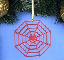 Decoration Ornament Decor Home Xmas Tree Amazing SPIDER-MAN Spider Web *A251